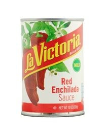 Picture of Red Traditional - Enchilada Sauce by La Victoria -  Mild - 10 oz (Pack of 3) - Item No. 14953