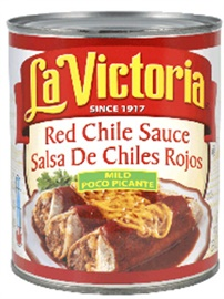 Picture of Red Chile Sauce by La Victoria - Mild - 28 oz - Item No. 14961