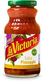 Picture of La Victoria Salsa Pineapple - Mild - Item No. 14970