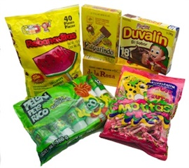 Picture of Mexican Candy Gift Pack 7 units- Item No.14995