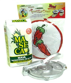 Picture of Tortilla Essentials Making Gift Pack 3 items - Item No. 14999