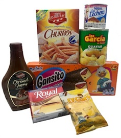 Picture of Mexican Food Sweet �n Delicious Gift Pack 7 items - Item No. 15008