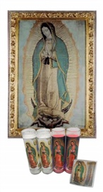 Picture of Our Lady of Guadalupe Kit  6 units- Item No.15020
