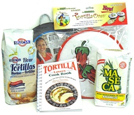 Picture of Mexican Tortillas Making Kit 5 items - Item No. 15026