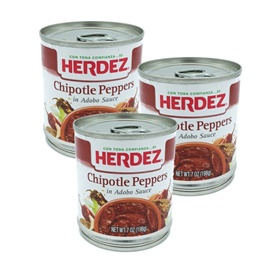 Picture of Chipotles Herdez in Adobo Sauce 7 oz(Pack of 3) - Item No. 1520