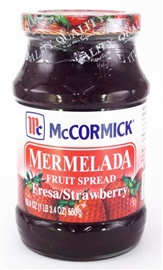 Picture of McCormick Strawberry Jam - Mermelada de Fresa 17.6 oz - Item No. 1560