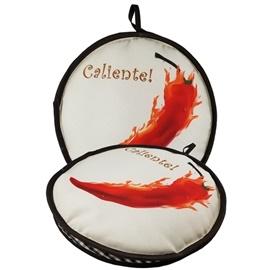 "Picture of Tortilla Warmer Fabric by La Tortilla Oven - 10""- Item No.1618"