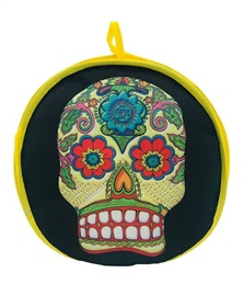 Picture of Day of the Dead Tortilla Warmer - Item No. 1622