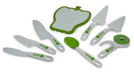 Picture of Curious Chef Build a Kitchen 8 Piece Cutlery & Serving Set 8 pieces - Item No. 16346-50095