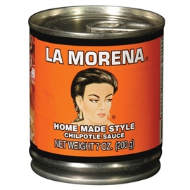 Picture of La Morena Homemade Style Chipotle Sauce 7 oz (Pack of 3)- Item No.1722