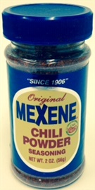Picture of Mexene Chili Powder Seasoning 2 oz - Item No. 17600-02202