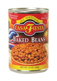 Picture of Casa Fiesta Baked Beans 16 oz (Pack of 3)- Item No.17600-08817