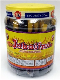 Picture of Jabalina Hot and Salted Tamarind Candy on a Stick 40 pieces- Item No.18122-54729