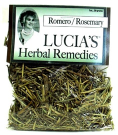 Picture of Lucia's Herbal Remedies Romero / Rosemary 1 oz- Item No.18122-73717