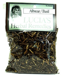 Picture of Lucia's Herbal Remedies Albacar / Basil 1 oz - Item No. 18122-73757