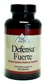 Picture of Defensa Fuerte  (Immune System Defense Formula) 100 capsules - Item No. 18122-85444