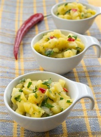 Picture of Lawry's Tropical Fruit Salsa Recipe - Item No. 182-lawry-s-tropical-fruit-salsa