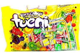 Picture of Canel's Tueni Soft Candy Fruit Chews Candy 14.1 oz- Item No.18804-05187