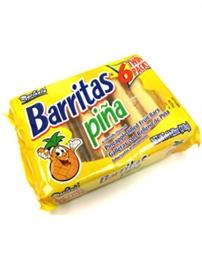 Picture of Marinela Barritas de Pina - Pineapple Filled Fruit Bars - 6 Twin Packs 11.22 oz- Item No.19505