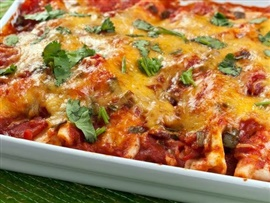 Picture of Mexican Casserole Recipe - Item No. 218-mexican-casserole