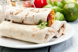 Picture of Wake Up Burrito with Sausage Recipe - Item No. 237-wake-up-burrito-with-sausage