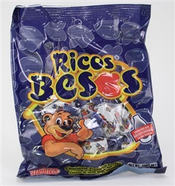 Picture of Ricos Besos Chocolate Flavored Mexican candy - Item No. 24142-00224