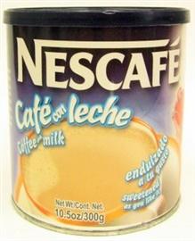 Picture of Cafe con Leche - Nescafe Caf� con Leche 10.5 oz- Item No.2422