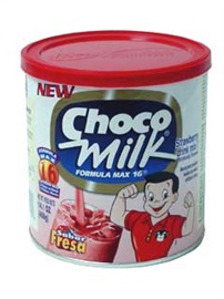 Picture of Choco Milk Strawberry Flavor 14 oz- Item No.2427
