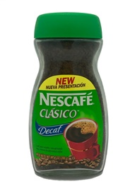 Picture of Nescafe Clasico Decaf 7oz - Item No. 2429