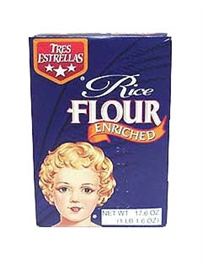 Picture of Rice Flour - Harina de Arroz Tres Estrellas  17.6 oz. - Item No. 2430