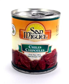Picture of San Miguel Chiles Chipotles 7 oz (Pack of 3) - Item No. 24456-00400