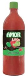 Picture of Salsas Castillo Amor hot sauce with lime- Medium 33oz - Item No. 24836-05505