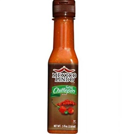 Picture of Mexico Lindo Salsa Castillo Chiltepin 5 fl oz - Item No. 24836-50010
