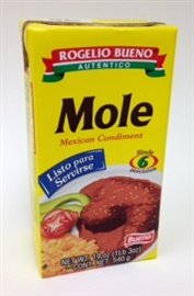 Picture of Rogelio Bueno Authentic Mole Ready to Serve - 19 oz - 6 Portions - Item No. 2503