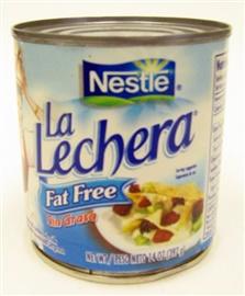 Picture of La Lechera Fat Free Milk by Nestle 14.1 oz- Item No.2564