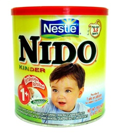 Picture of Nido Kinder Milk by Nestle 360 g - 12.6 oz- Item No.2574