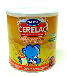 Picture of Cerelac - Nestle Cerelac Trigo con Leche 14.1 oz - Item No. 2578