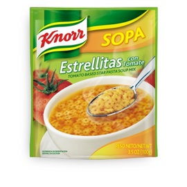 Picture of Knorr Pasta Stars Soup 3.5 oz (Pack of 3) - Item No. 2606