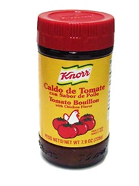 Picture of Knorr Tomato/Chicken Flavored Boullion 7.9 oz. - Item No. 2685