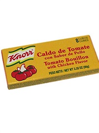 Picture of Knorr Tomato/Chicken Flavored Bouillion 8 cubes (Pack of 3) - Item No. 2686