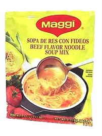 Picture of Maggi Beef Flavored Soup Mix with Noodles 2.11 oz (Pack of 3) - Item No. 2711
