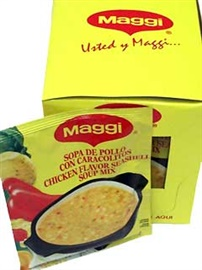 Picture of Maggi Chicken Flavored Seashell Soup Mix 2.11 oz (Pack of 3) - Item No. 2719