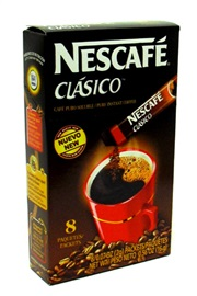 Picture of Nescafe Clasico Instant Coffee 8 Individual Portion Packets - Item No. 28000-63141