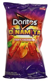 Picture of Doritos Fiery Habanero Flavored Tortilla Chips 12 oz bag (Pack of 3) - Item No. 28400-00483