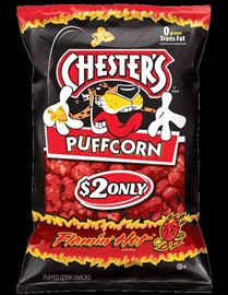 Picture of Chesters Puffcorn Flamin' Hot 4.5 oz (Pack of 3) - Item No. 28400-01406