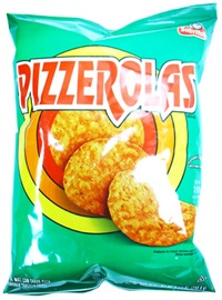 Picture of Pizzerolas Pizza Flavored Tortilla Chips 8.5 oz - Item No. 28400-01931