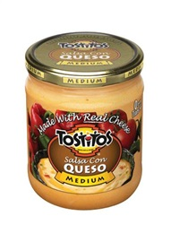 Picture of Tostitos Salsa con Queso Medium 15 oz. - Item No. 28400-07098