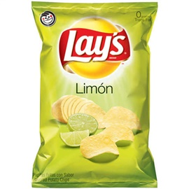 Picture of Lay's Limon Flavored Potato Chips (Pack of 3) - Item No. 28400-08327