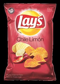 Picture of Lay's Chile Limon Flavored Potato Chips 7 3/4 oz (Pack of 3) - Item No. 28400-08329