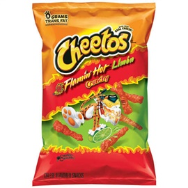 Picture of Cheetos Brand Flamin' Hot Limon Crunchy 9 oz (Pack of 3) - Item No. 28400-08785
